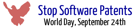 Stop Software Patents - World Day, September 24th
